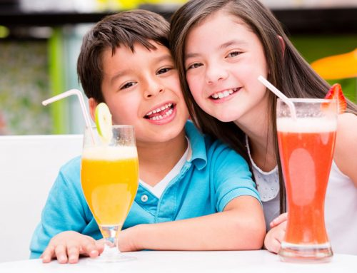Why Kids Should Not Be Drinking Juice